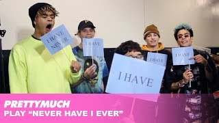 PRETTYMUCH Play Never Have I Ever