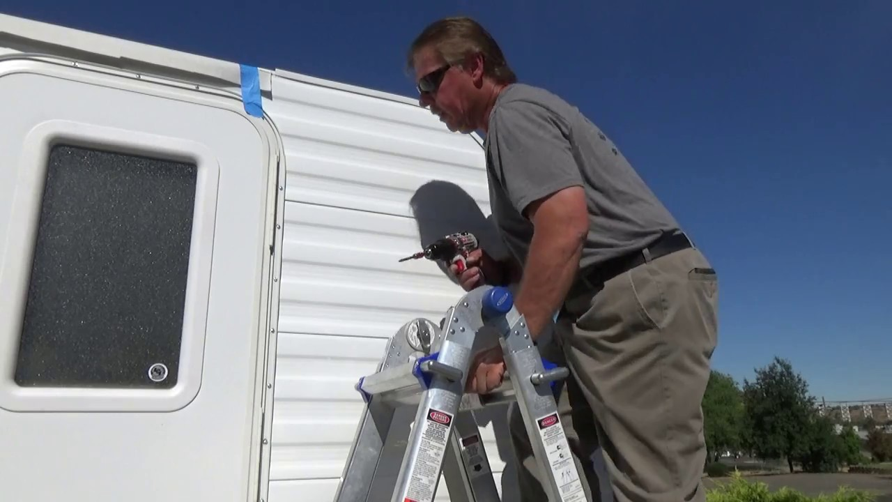 How To Build A DIY Travel Trailer - Part 36 (Installing the Trim Molding)