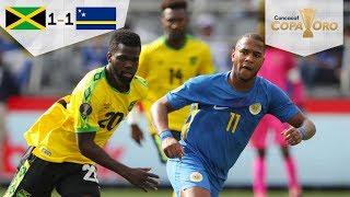 ¡Empate de último minuto! | Jamaica 1 - 1 Curazao | Copa Oro - Grupo C | Televisa Deportes