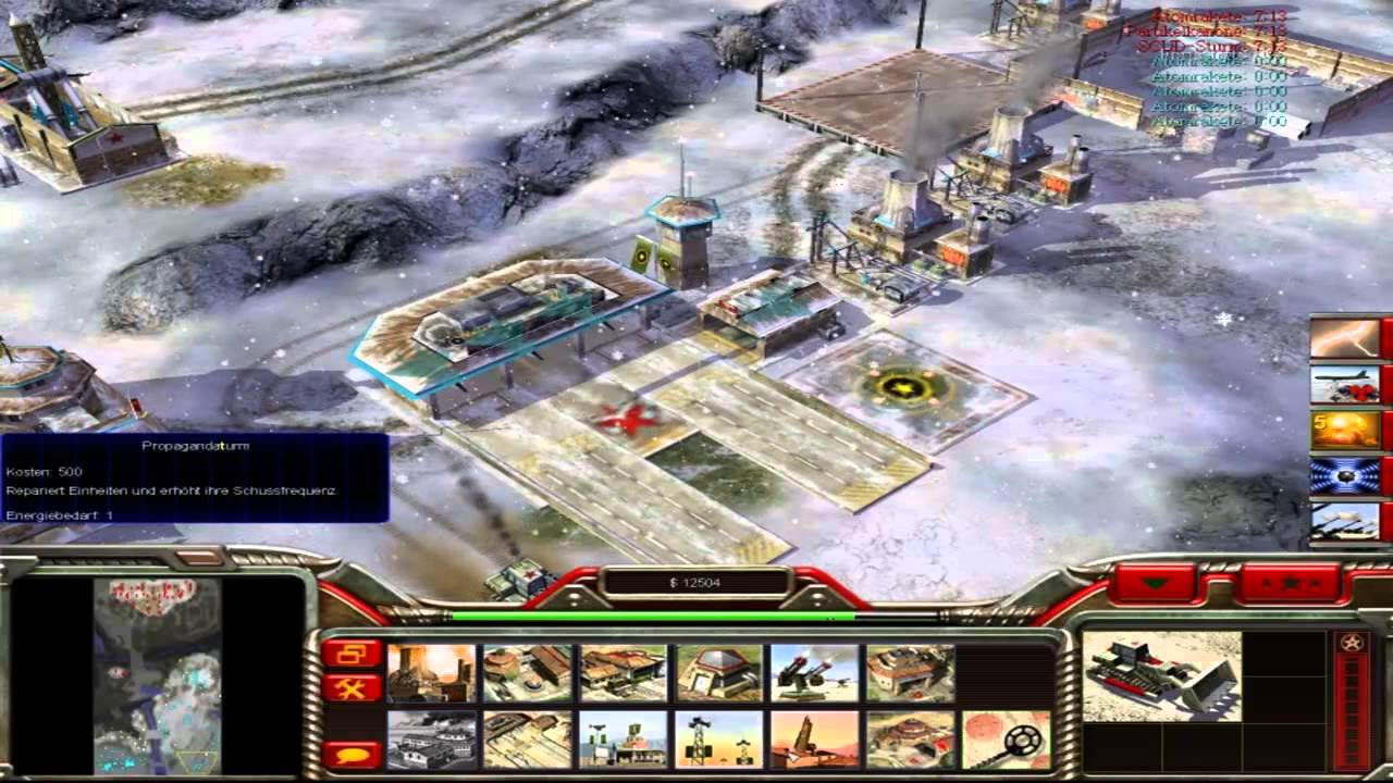 command and conquer generäle die stunde null