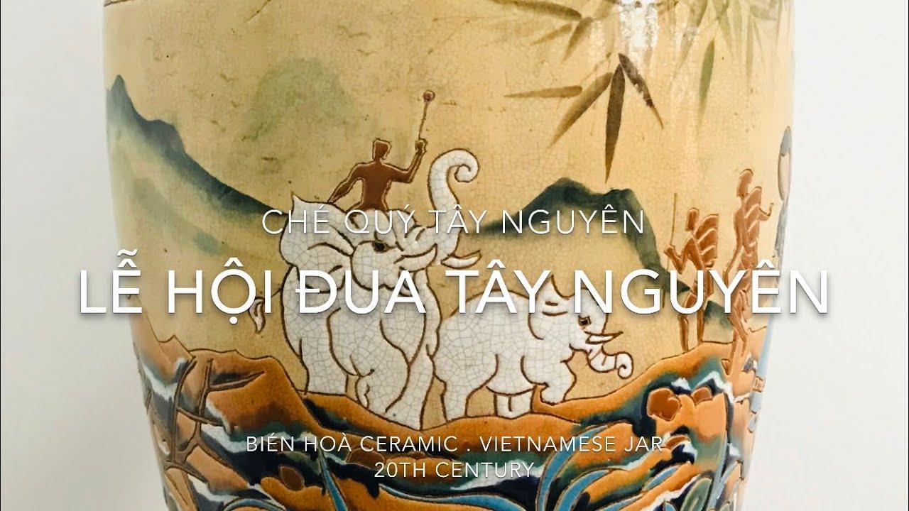 CHÉ TÂY NGUYÊN : LỄ HỘI ĐUA VOI TÂY NGUYÊN – Vietnam Jar House – Đại Ngàn House | Vietnam ceramics