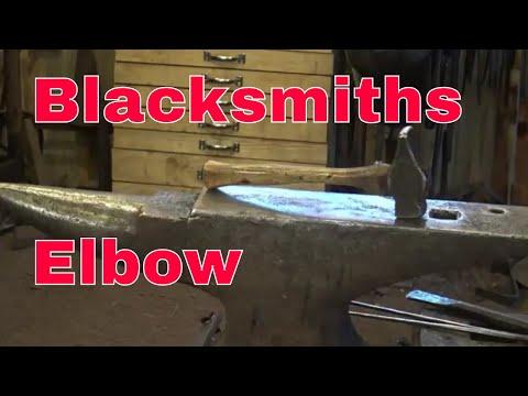 Hammer technique and blacksmiths elbow preventioin