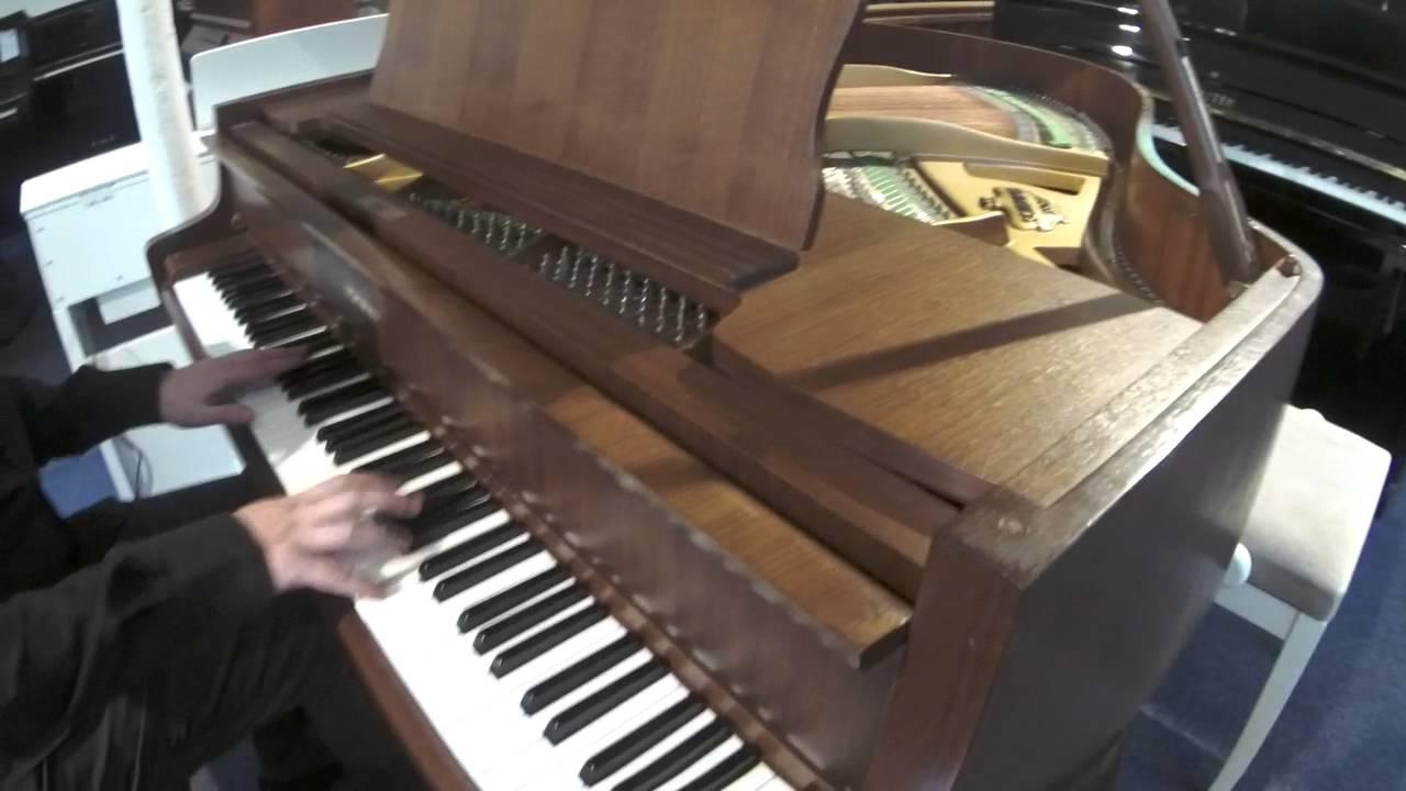 improvisation sur un piano queue d 39 occasion schimmel 150 chippendale youtube