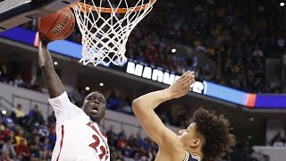 Louisville's Deng Adel takes flight, finishes with amazing dunk