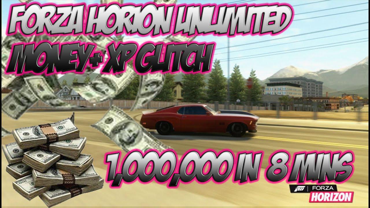 Forza horizon unlimited money xp glitch check description for new
