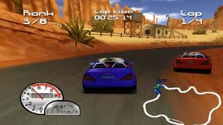 Roadsters Trophy (Nintendo 64 Gameplay)