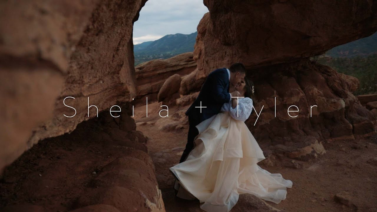 The Mountains of Garden Of The Gods | Tyler & Sheila | Engagement Video