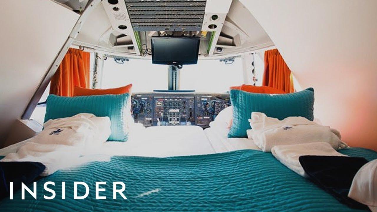 Како изгледа да спиете во хотелска соба во Боинг 747?