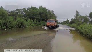 В Иркутской области из-за сильных ливней снова поднялся уровень рек в районе Тулуна и Нижнеудинска.