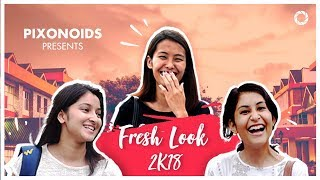 FRESH LOOK FIRST YEAR 2018 || NIT HAMIRPUR || PIXONOIDS || FRESHER INTRODUCTION
