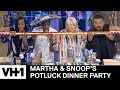 Kelly Rowland & George Lopez Take Shots 'Sneak Peek' | Martha & Snoop's Potluck Dinner Party