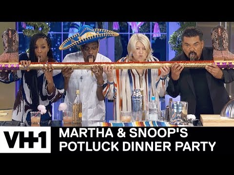 Download Youtube: Kelly Rowland & George Lopez Take Shots 'Sneak Peek' | Martha & Snoop's Potluck Dinner Party