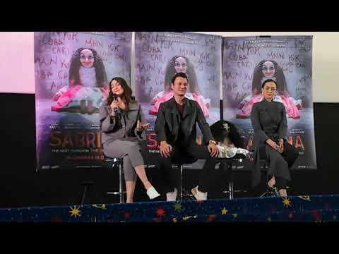 Sidang Media Filem Sabrina di Kuala Lumpur