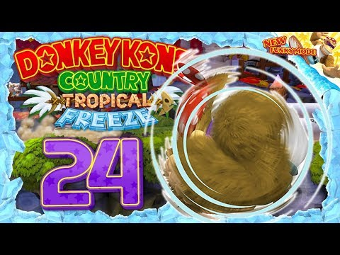 DONKEY KONG COUNTRY: TROPICAL FREEZE #24: Mit Vollgas durch die Alpen! [1080p] ★ Let's Play
