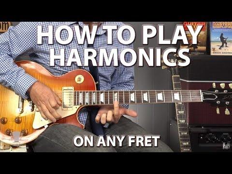 How to Play Harmonics On ANY Fret Using 5, 7, 12 Killer Method