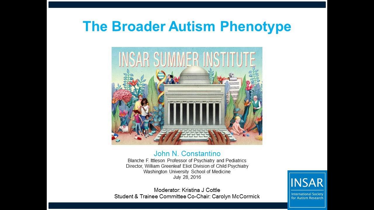 Summer Institute John Constantino Session - International
