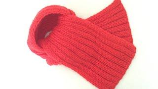 대바늘 쉬운 목도리뜨기 / Knitting Scarf for beginners