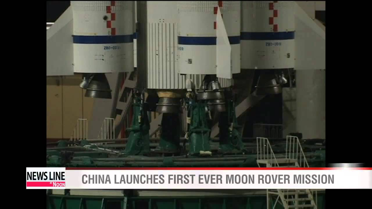 China launches first ever Moon rover mission - YouTube