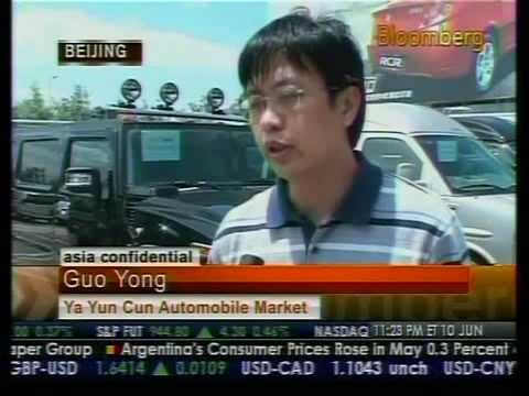 Chinese Automakers' Global expansion - Bloomberg