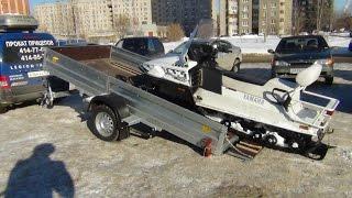 Лучший Прицеп для перевозки снегохода AvtoS AF34AB(, 2015-03-04T20:23:10.000Z)
