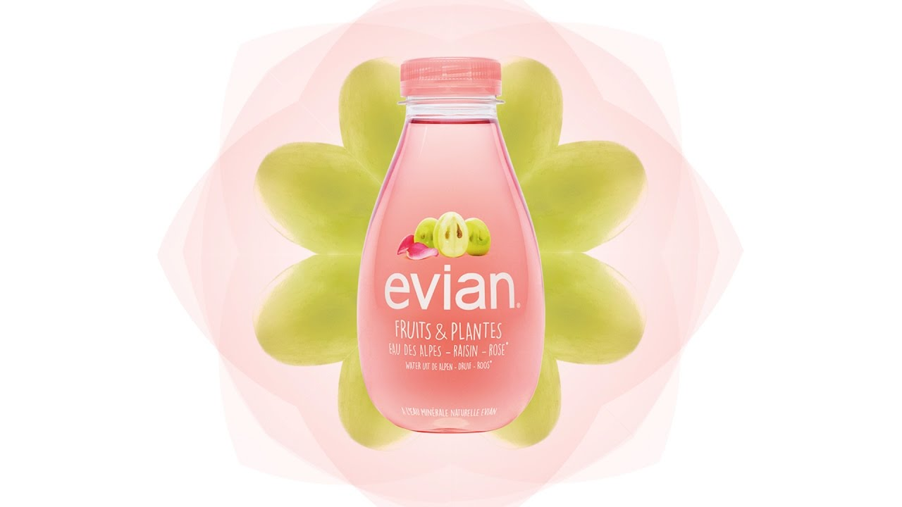 Super evian® Fruits & Plantes, l'autre versant d'evian® - YouTube FX52
