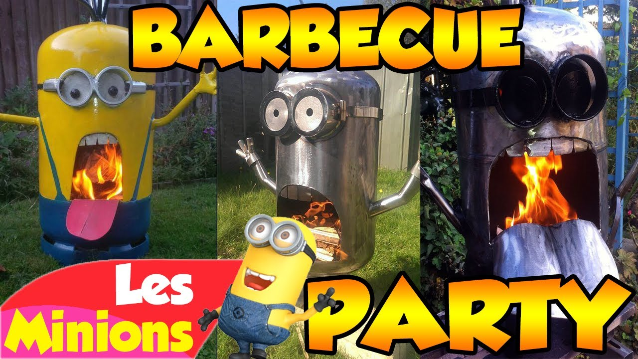les minions barbecue party youtube. Black Bedroom Furniture Sets. Home Design Ideas
