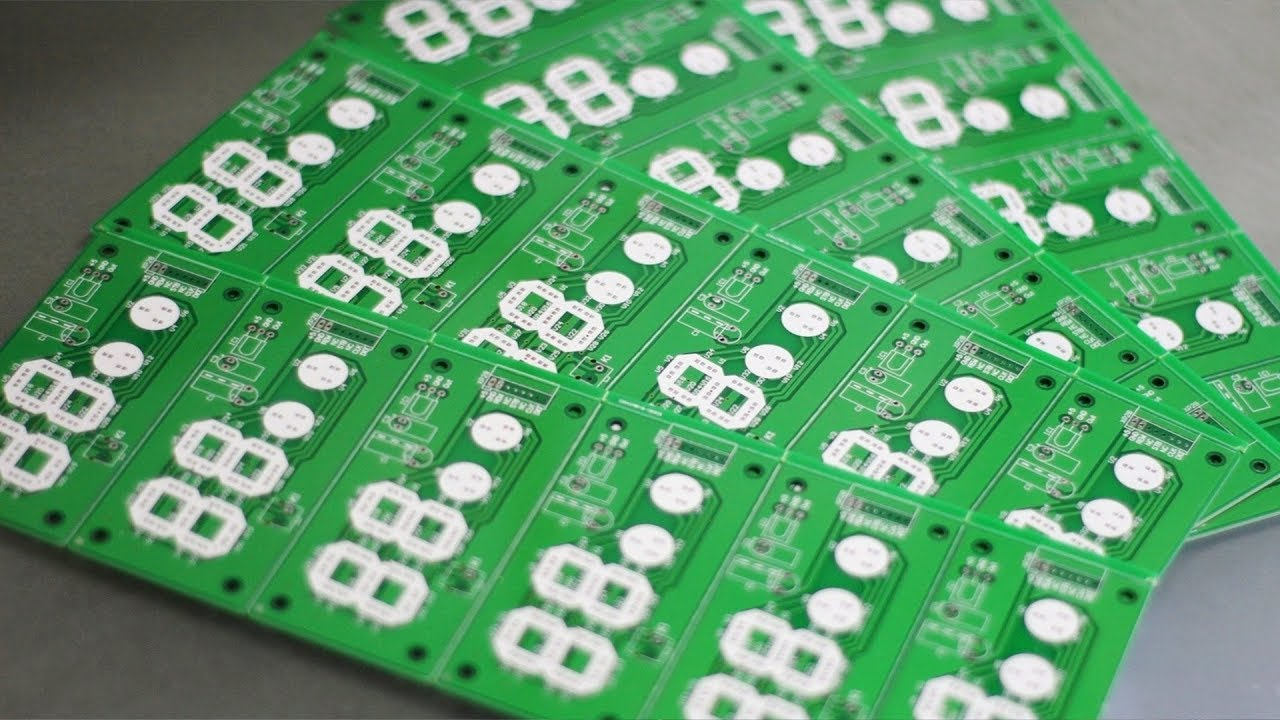 JLCPCB Factory - 2-layer PCB Manufacturing