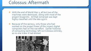 Colossus: The First Digital Computer
