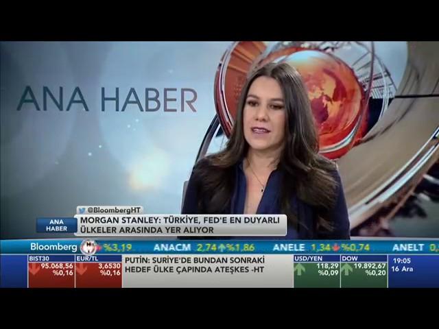 TÜSİAD Baş Ekonomisti Dr. Zümrüt İmamoğlu BloombergHT Anahaber Bültenine Konuk Oldu