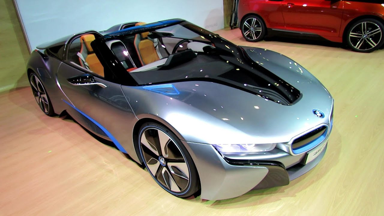 I8 Exterior: BMW I8 Concept Exterior And Interior Walkaround