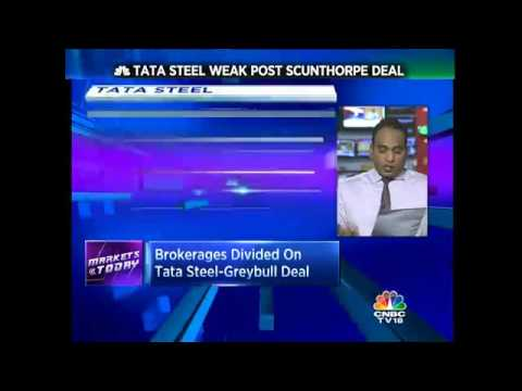 Brokerages Divided On Tata Steel-Greybull Deal