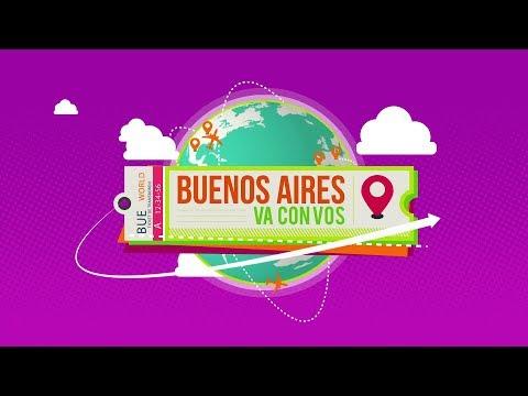 Buenos Aires va con vos: Mery Solari desde San Francisco, California - Canal de la Ciudad