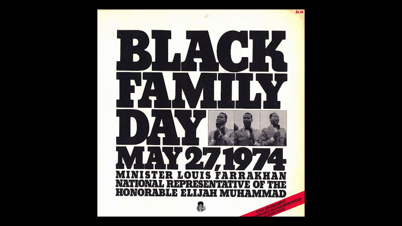 Louis Farrakhan - Black Family Day (1974)