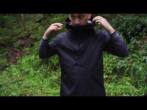 Trail Series Short-Sleeve Rain Anorak
