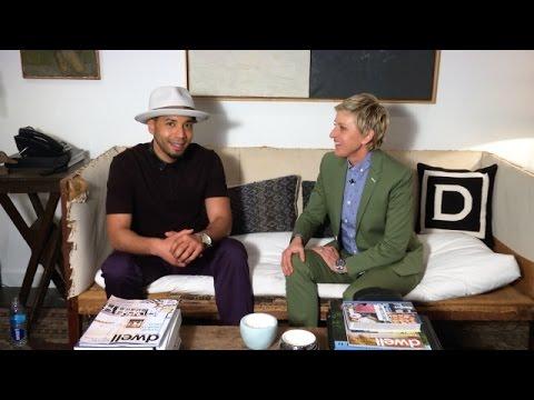Jussie Smollett Talks to Ellen From the Heart