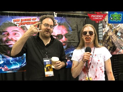 JON SCHNEPP Interview - Phx Comicon 2016 - The Horror Show