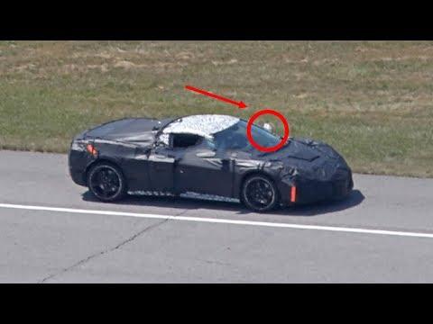 WATCH NOW! Corvette 850 HP Mid Engine Spy Shots
