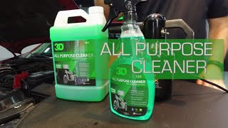 How to use ALL PURPOSE CLEANER