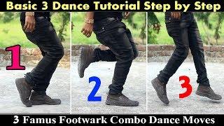 Basic 3 Famus Dance Footwark    saimon dance choreography    Bangla Dance Tutorial