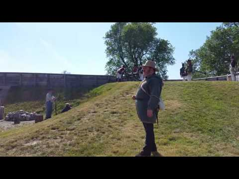 Cannon Demo at Fort Erie - Fenian Raids, featuring Daryl