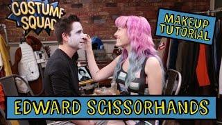 BONUS: Edward Scissorhands Makeup Tutorial - DIY Costume Squad