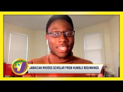 Jamaican Rhodes Scholar from Humble Beginnings   TVJ News