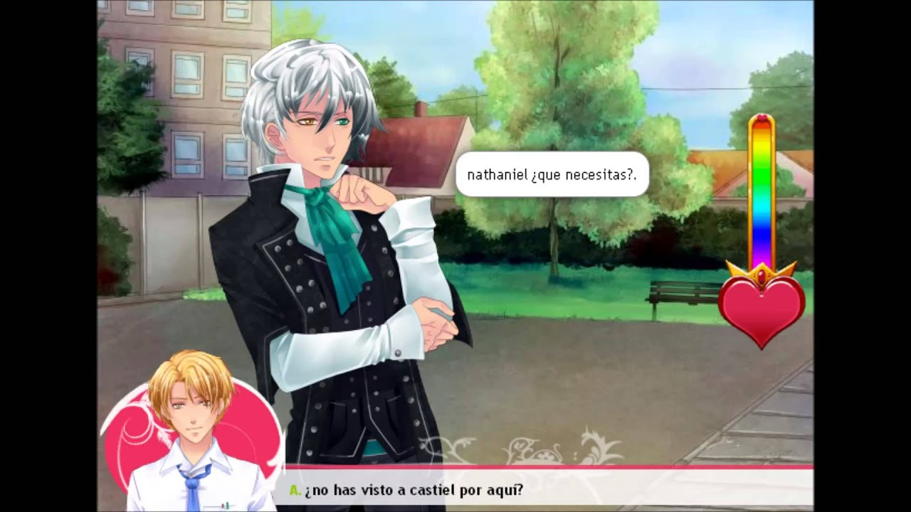 Castiel x nath 5 yaoi corazon de melon youtube for Corazon de caramelo