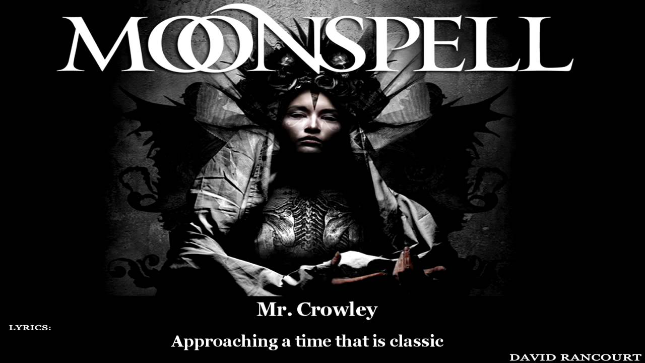 Moonspell Mr.Crowley [Lyric Video]
