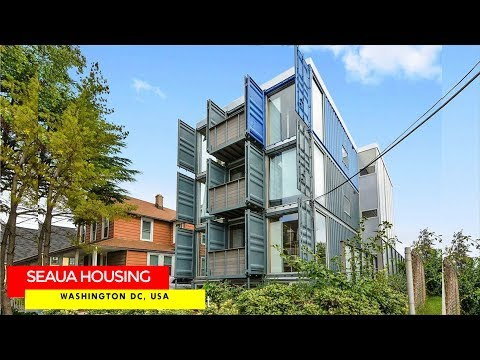 SeaUA Shipping Container Housing Project in Washington DC