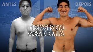 Como chegar no peso ideal sem academia I A história de Rodrigo