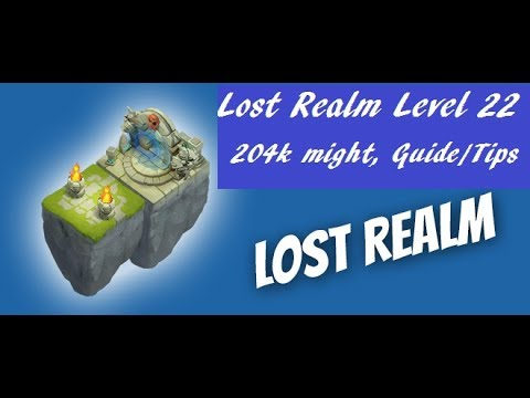 Lost Realm Level 22, Guide And Tips On Maximizing Your Rewards  Castle Clash