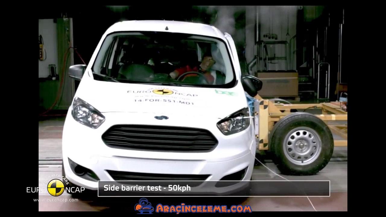 2014 Ford Tourneo Courier Euro Ncap Carpisma Testi Youtube