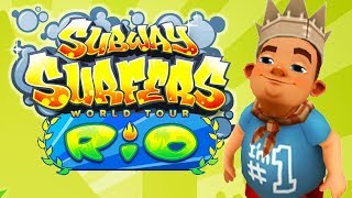 Subway Surfers World Tour #22 (Rio) | Android Gameplay | Friction Games