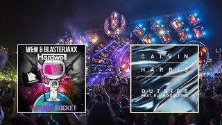 Spaceman Rocket vs Outside (Mashup) - Hardwell vs Calvin Harris